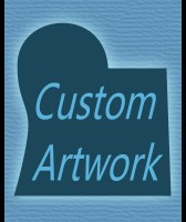 Custom Commission paintings by Artist David King : abstract stylized unique original art